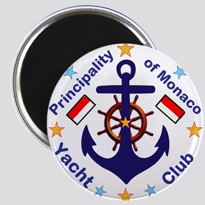 Monaco Yacht Club Magnets